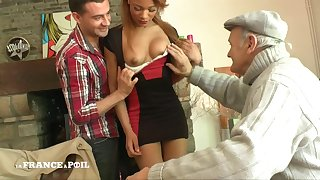 Oversexed Young Small Titted Tanned Spread out