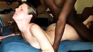 Slutty explicit takes BBC bareback