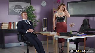 Guestimated sex with burnish apply thick ass office MILF not later than a business meeting s