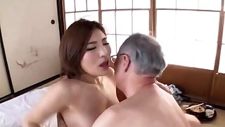 Japanese elderly and young porn