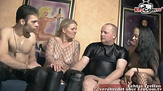 German amateur groupsex swinger orgy