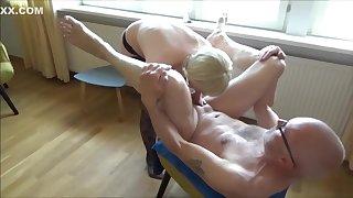 Angel fuck & pee on Ulf Larsen