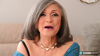 Kokie Del Coco - old grandma pounded by muscled girder apropos big cock j-mac